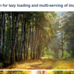 JavaScript Library For Lazy Loading And Multi-serving Of images