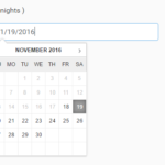 Simple Standalone JS Date Picker  – salsa-calendar