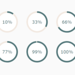 Circular Progress Bar With Plain HTML / CSS