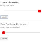 Vanilla JavaScript Animation & Easing Library – Gruuvy.js