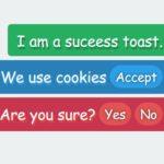 Simple Fast Vanilla JS Toast Library – SheepToasts
