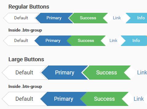 Css3 Arrow Buttons For Bootstrap Css Script