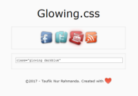 Glowing.css