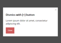 Simple Modal View