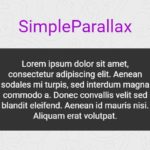Performant Parallax Scrolling Library – SimpleParallax