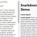 Minimal Markdown Parser In Pure JavaScript – Snarkdown