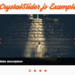 Mobile-friendly Image Carousel In Vanilla JavaScript – CrystalSlider.js