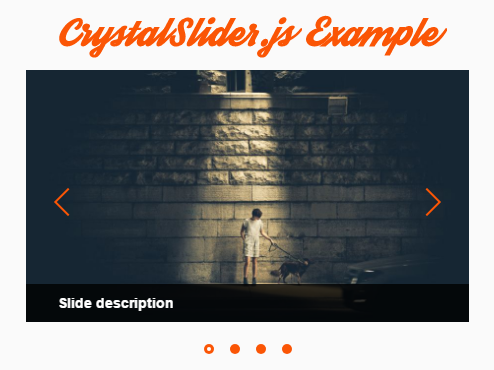Mobile-friendly Image Carousel In Vanilla JavaScript – CrystalSlider.js