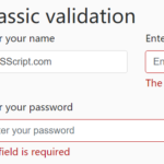 Custom HTML5 Form Validator In Vanilla JavaScript – Just-validate