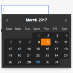 Tiny Dependency-free Date Picker JS Library – Pikaday