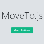 Configurable Smooth Scroll Animation In Vanilla JavaScript – moveTo.js