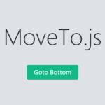 Configurable Smooth Scroll Animation In Vanilla JavaScript – moveTo.js