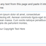 Add Reference And Copyright Text To Copied Content – Copyright.js
