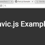Switch Favicons With Pure JavaScript – Favic.js