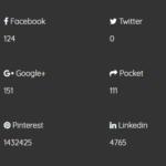 Social Share Counter In Vanilla JavaScript – social-share-count.js