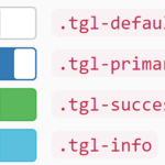Flexible Toggle Switches For Bootstrap – Toggle.css