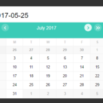 Infinite Scrolling Date Picker UI With Pure JavaScript