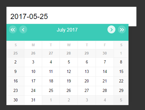 Infinite Scrolling Date Picker UI With Pure JavaScript ...