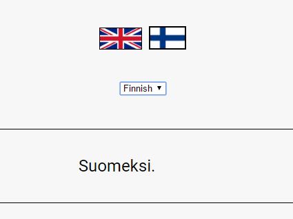 Switch Languages With Ease – languageSelector