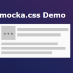Facebook-like Content Loader For Modern Web – mocka