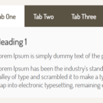 Animated Tabs Component In Pure CSS – Tabsy CSS