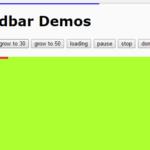 Slim Progress/Loading Bar In Native JavaScript – loadbar