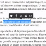 Medium Style Text Selection Sharing Library – share-this