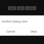 Minimalist Toast Notification & Confirm Dialog Library – ui-notify