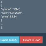 Export JavaScript Array To XLS And CSV – xlsexport