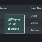Pure JavaScript Context Menu Plugin ContextMenu.js