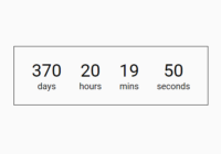 Easy Datetime Countdown Timer