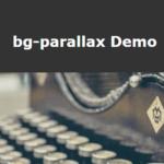 Background Image Parallax Animation In Vanilla JavaScript – bg-parallax