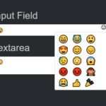 Simple Emoji Picker For Text Fields – Emoji Picker
