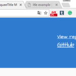 Fancy Scrolling Document Title In JavaScript – marqueeTitle