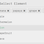Multi-select Dropdown Component With Vanilla JavaScript – sellect.js