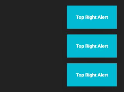 CSS3 Animated Alert Notifications – JSAlert