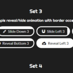 Animated/Interactive Web Button Library – Hover-Buttons