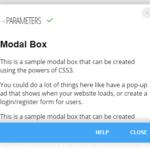 Mobile-friendly Modal Window In Pure CSS – modal_box