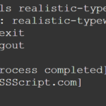 Realistic Text Typing Effect – realistic-typewriter.js
