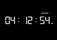 Minimal Digital Clock