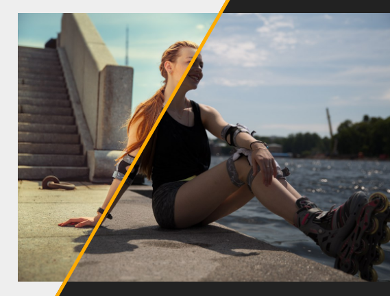 Interactive Split Screen Slider With JavaScript And CSS3