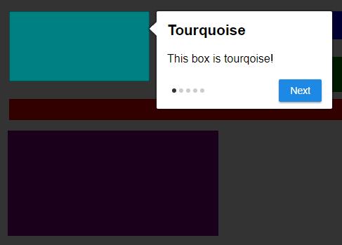 Dynamic Feature Tour JavaScript Library – Tiny Tour