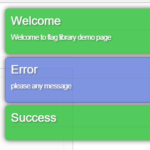 Non-blocking Notification Library In JavaScript – Flag