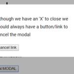 Flexbox Based Responsive Modal