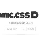 Fancy CSS Only Animations – Mimic.css