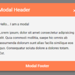Plain Modal Window With JavaScript And CSS