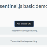 Detect New Elements Using CSS Selectors – sentinel.js
