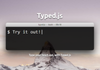 typed.js