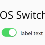 Realistic iOS Switch In Pure CSS