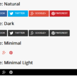 Customizable Social Share Bar In JavaScript – share-bar